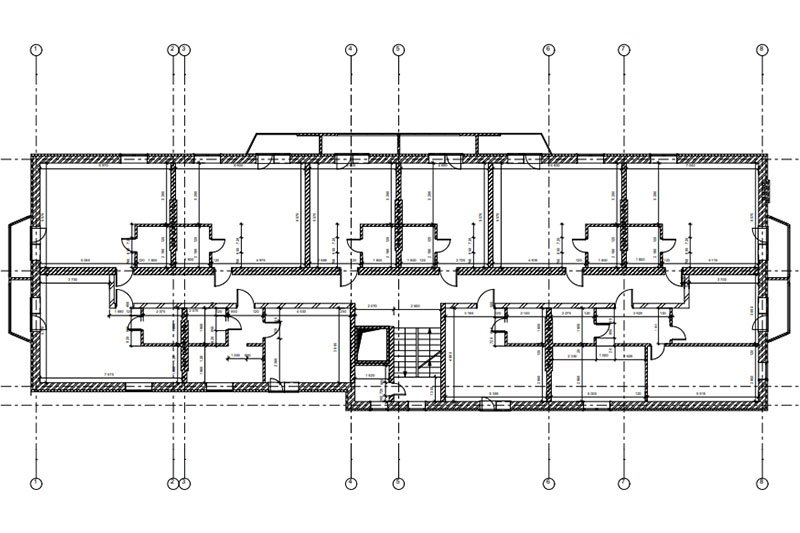 A Floor Layout of a Residential Building