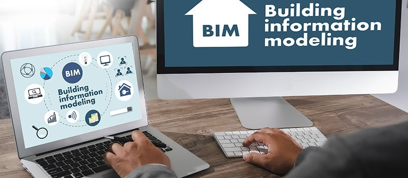 A Person Learning How to Use 3D and BIM Software