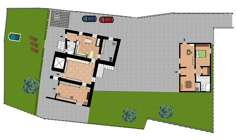 Site Plans for Showing a Property's Surroundings