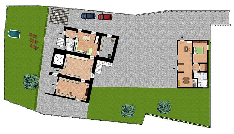 House Site Plans for Project Presentations