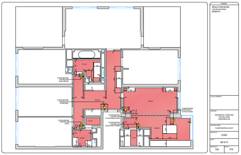 Fundamental Interior CAD Floor Plans