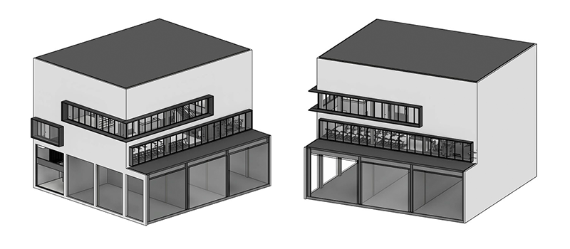 Revit 3D Model of a Building