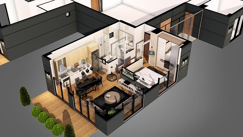 Realistic 3D Architectural Visualization in Revit